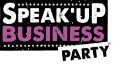 Speak'Up Business Party Logo